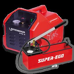 Инструменты, оборудование, опрессовочные насосы для проверки и испытаний на герметичность