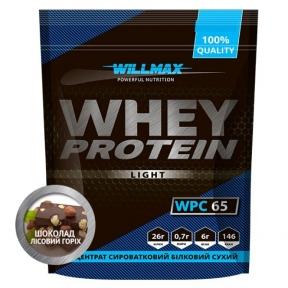WILLMAX WHEY PROTEIN 65% 1кг Шоколад-Лесной орех