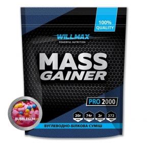 WILLMAX Mass Gainer 2кг Бабл-Гам