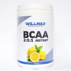 WILLMAX BCAA 2:1:1 400г. Лимон