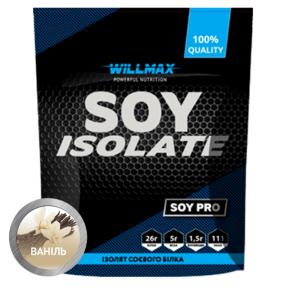WILLMAX SOY ISOLATE ваниль 900г