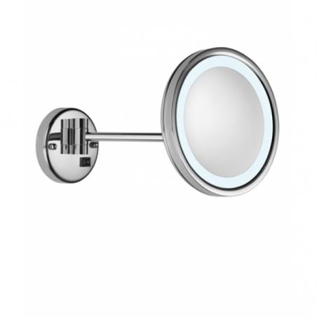 Зеркало с кронштейном и подсветкой VALERA OPTIMA Light One