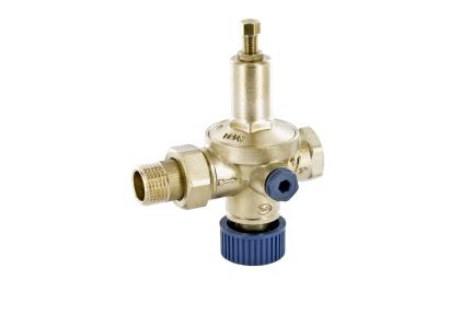 Автоматический подпиточный клапан с накидной гайкой OFFICINE RIGAMONTI Rial 0525.015 1/2