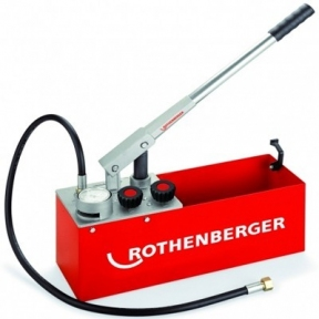 Опрессовочный насос ROTHENBERGER RP 50-S INOX (резервуар из нержавеющей стали)