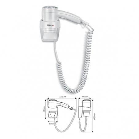 Настенный фен для волос VALERA Executive 1200 Super
