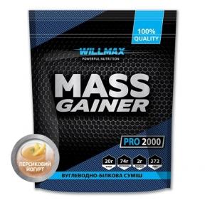 WILLMAX Mass Gainer 2кг Персиковый йогурт