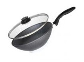 Сковорода-Вок с крышкой SWISS DIAMOND Standard Ø 28 см