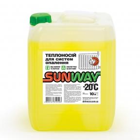 Sunway -30°C (10 литров) - теплоноситель для систем отопления