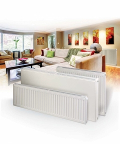 Стальной панельный радиатор Ruvi 22 тип 500х1100 мм (нижнее подключение)
