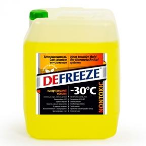 Defreeze -30°C (10 литров) - антифриз-теплоноситель для систем отопления