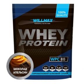 WILLMAX WHEY PROTEIN 80% Шоколад-Апельсин 920г
