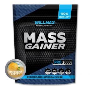 WILLMAX Mass Gainer 2кг Манговый сорбет
