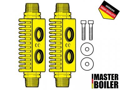 Адаптер для промывки пластинчатого теплообменника Master Boiler HE Adapter 3/4