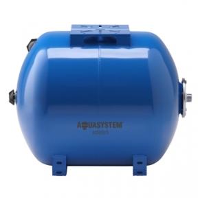 Гидроаккумулятор Aquasystem VAO 35 литров (горизонтальный)